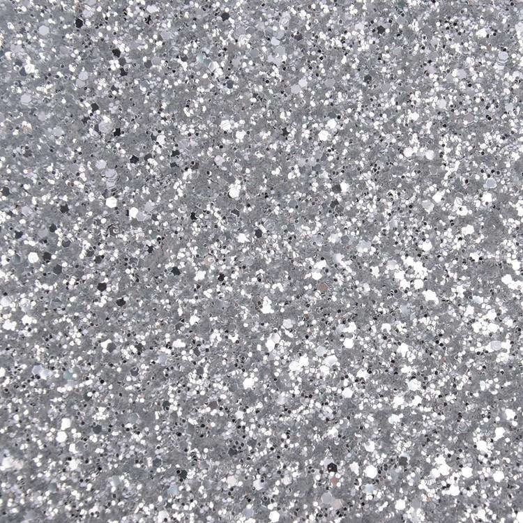 Factory Supply Luxury Silver Glitter Wallpaper Bedroom