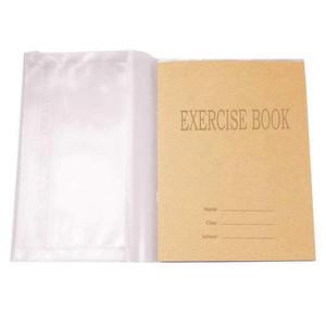 Transparent PVC book cover