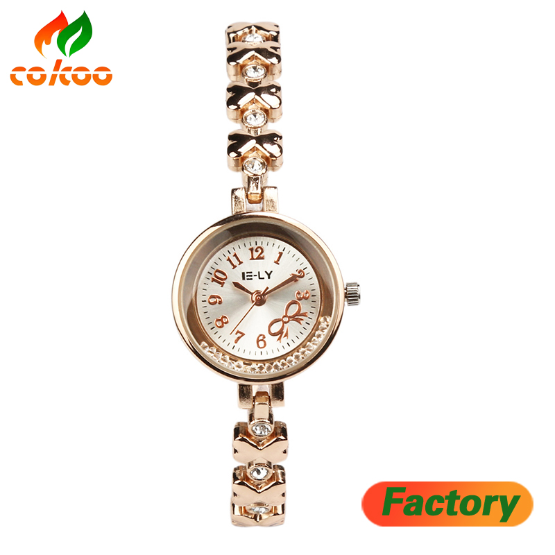 2017 Brand Bracelet Watches Women Ladies Casual Fashion Quartz Watch Dress Crystal Wrist Watch Clock