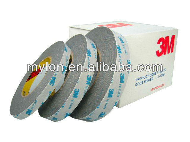 2013 hot sale world wide popularly double side pe foam tape