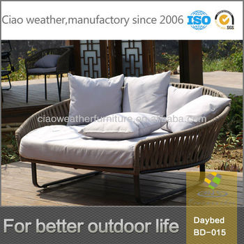 Kettal Sun Lounger Round Sofa Chair For Beach
