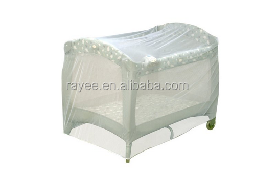 Amazing lit bb filet taille universelle blanc bb lit tente for Drap housse lit rond