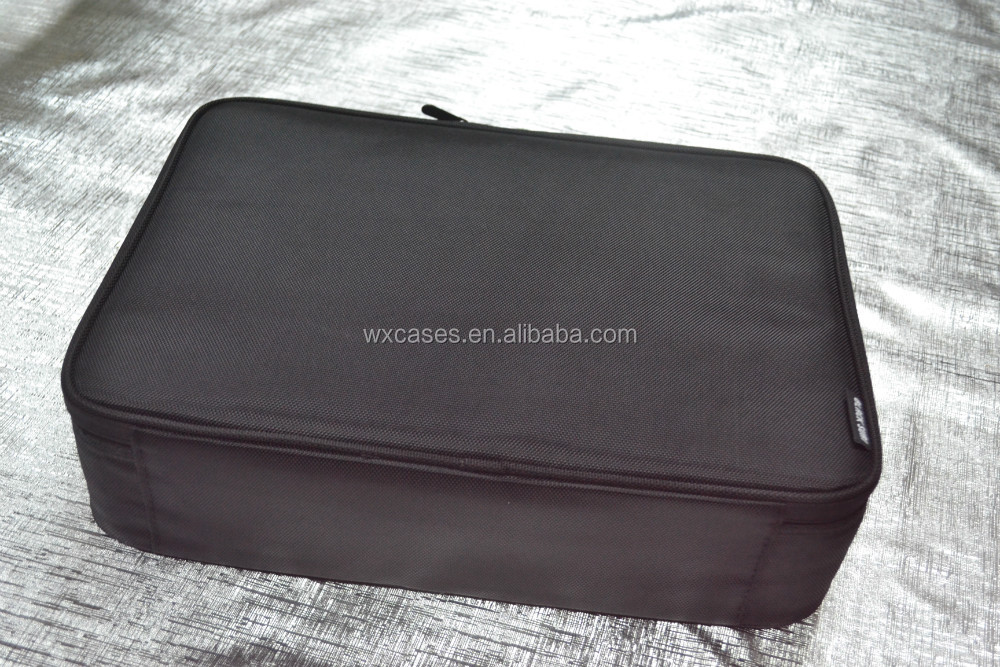 Spot goods,best-seller waterproof wholesale canvas cosmetic bag with strong plastic frame,different colors are available