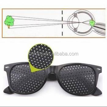 3d2fc3f2a2 Anti Fatigue Eyesight Vision Improve Pinholes Glasses   Eye Care Sunglasses    eye exercises improve vision