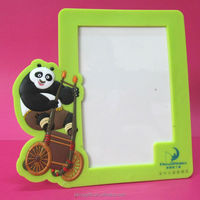 Cute decorative wood soft pvc picture frame basketball photo frame with lights