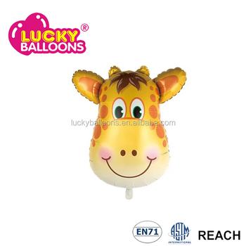 Giraffe Shape Balloon Stuffing Machine Foil Balloons Buy Giraffe