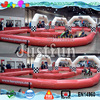 pedal go cart n zorb race customized inflatable air track for sale