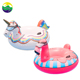 LC factory Flamingo and Unicorn Snow Toys Most Popular Inflatable Winter Plastic Snow Sled Tube For Sale