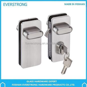 Everstrong St G015b Frameless Double Glass Sliding Door Lock Buy
