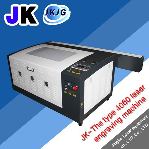 JK-K4060 60WBamboo and wood/acrylic/leather cutting machine/Co2 laser cutting machine
