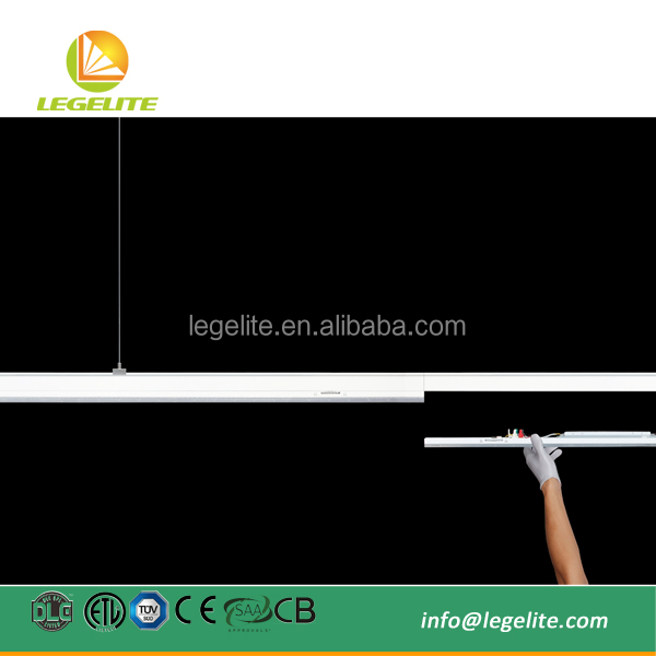 Best Selling Modular Linkable Rail Busbar LED Linear Trunking System