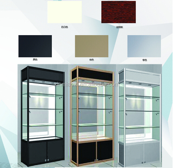 Acrylic Showcase, Wood And Glass Cabinet, Whisky Cosmetic Display Cabinet  And Showcase