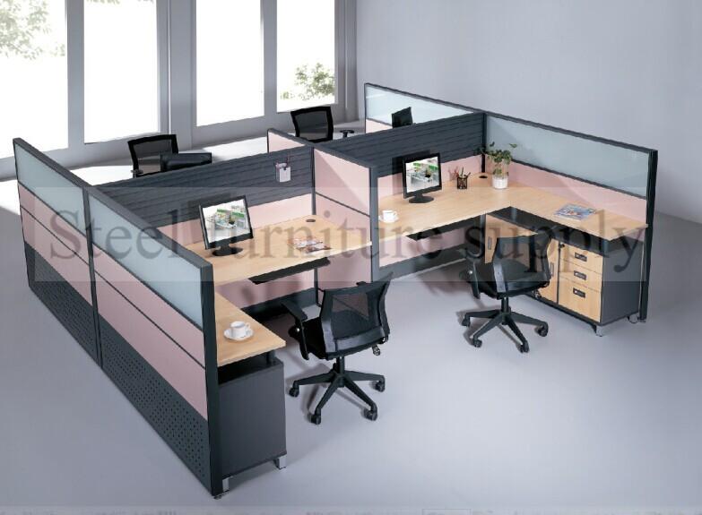 Office Furniture Desks/office Desk Partition/6 People Office Desk