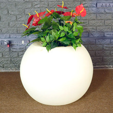 Wholesale large waterproof flower pot for garden for hotel decoration flower pot wholesale