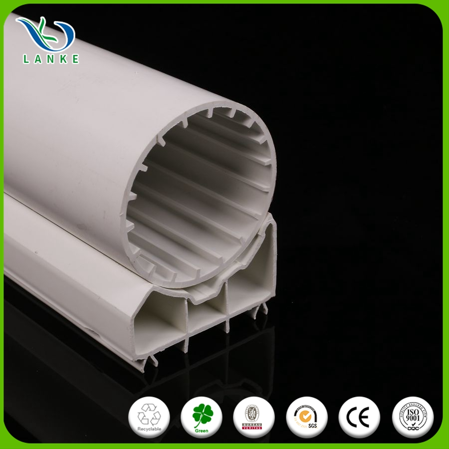 Lanke universal white jointer plastic pvc profile