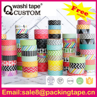 Qcustom scrapbook paper tape for promotions