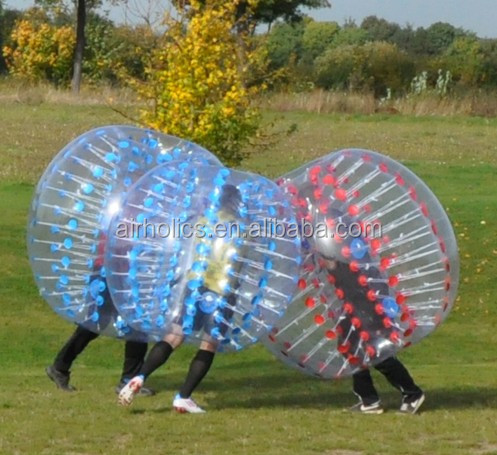 1.2m/1.5m/1.7m diameter kids&adults inflatable bumper ball, 0.8-1mm PVC/TPU bubble soccer football, body zorb ball 2015