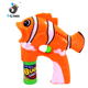 Wholesale kids led soap toy bubble gun with no battery