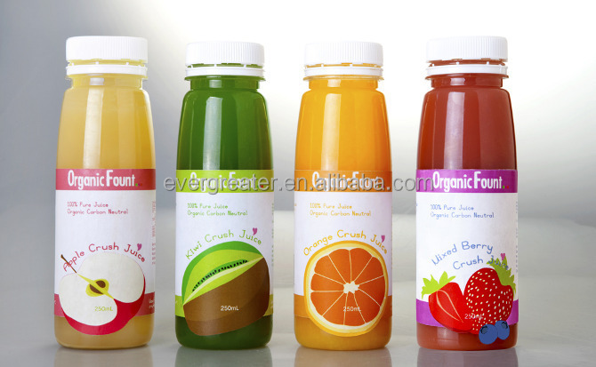 Custom Design Waterproof Juice Bottle Labels Buy Juice