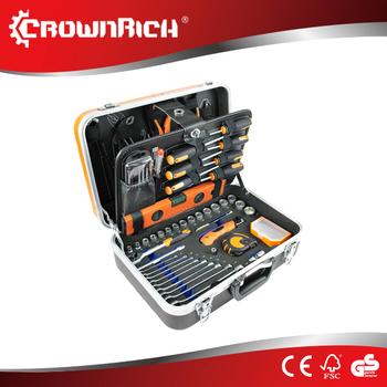crownrich 112 pcs cheap mechanic tool sets automobile workshop tool ...