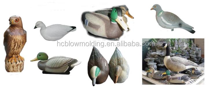 OEM พลาสติก goose decoys ล่าสัตว์ป่าให้อาหารขายร้อนการล่าสัตว์อุปกรณ์ห่านเหยื่อ decoy