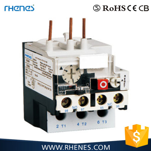 Electrical CE approval 3 pins thermal overload relay