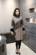 Factory sales promotion new style can be double-side wear sheepskin coat