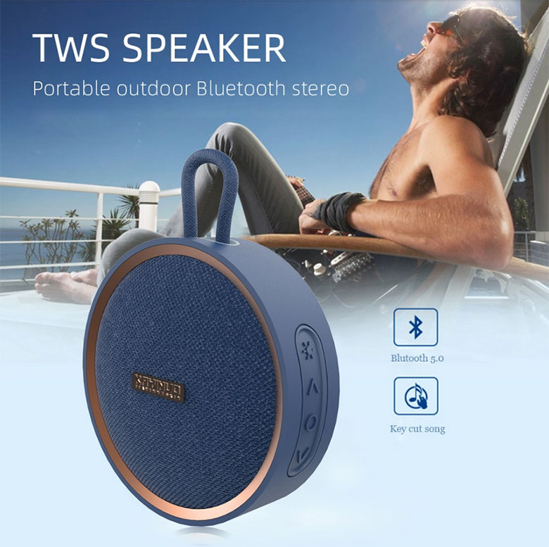 D530C ipx7 waterproof bt speaker,  Portable wireless bluetooth music tws speaker with super good sound