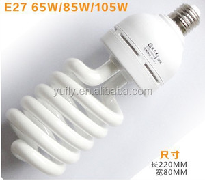 UL CE ISO LVD EMC RoHS SASO approved E27 15W fluorescent light bulb energy saving lamp cfl street light