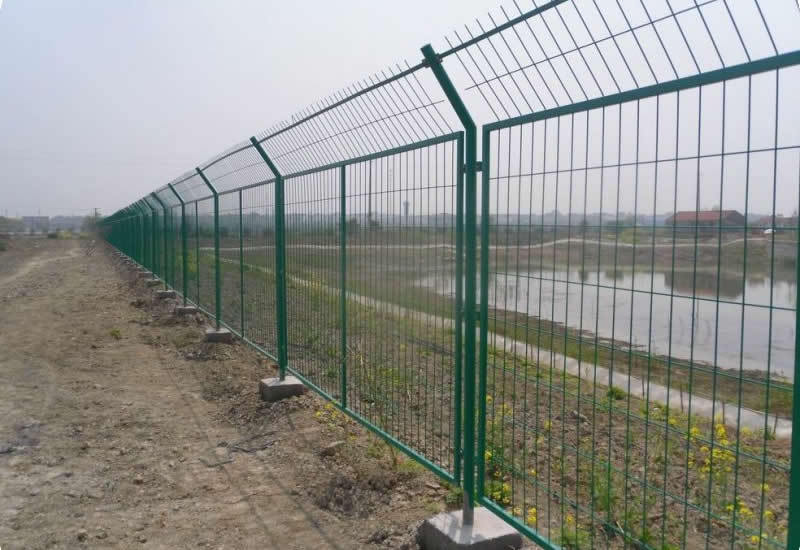 Protective fence red brc welded wire mesh buy