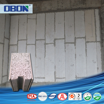 Obon Waterproof Thermal Insulation Sandwich Panel Concrete