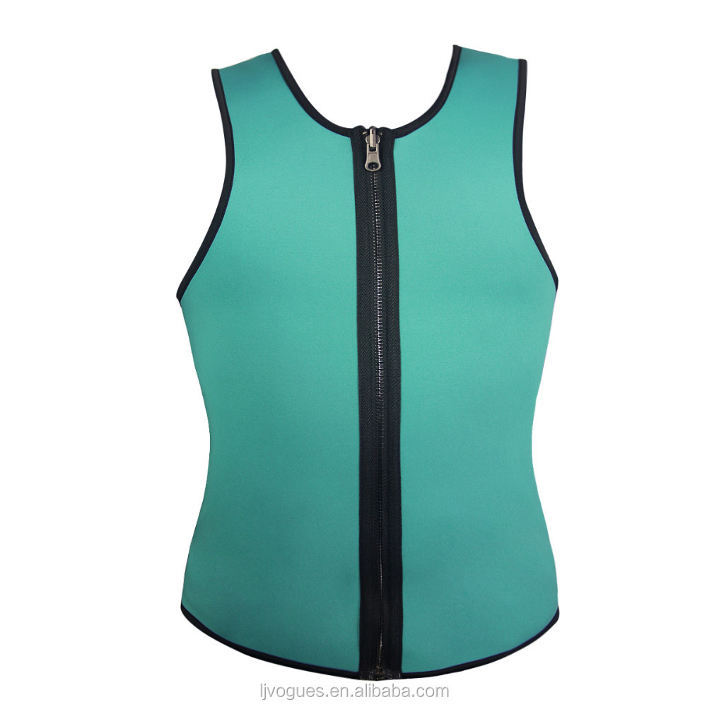 Men Thermo Sweat Neoprene Shapers Slimming vest For Weight Loss