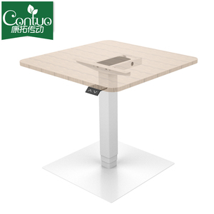 Electric Motorized Height Adjustable Metal Table Legs Bases For
