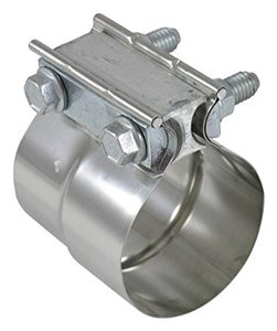 Stainless Steel Preformed Exhaust Band Clamp Lap Joint