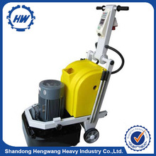Dry/wet type epoxy concrete floor grinder for sale