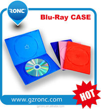 Factory Direct selling 10mm slim blu-ray dvd case