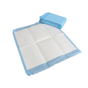 Blue  Oem Bed pads bed under pad cotton under pad protector disposable best adult diapers incontinence