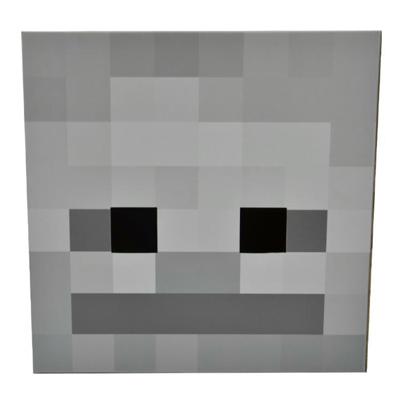 The gallery for --> Minecraft Skeleton Costume Head