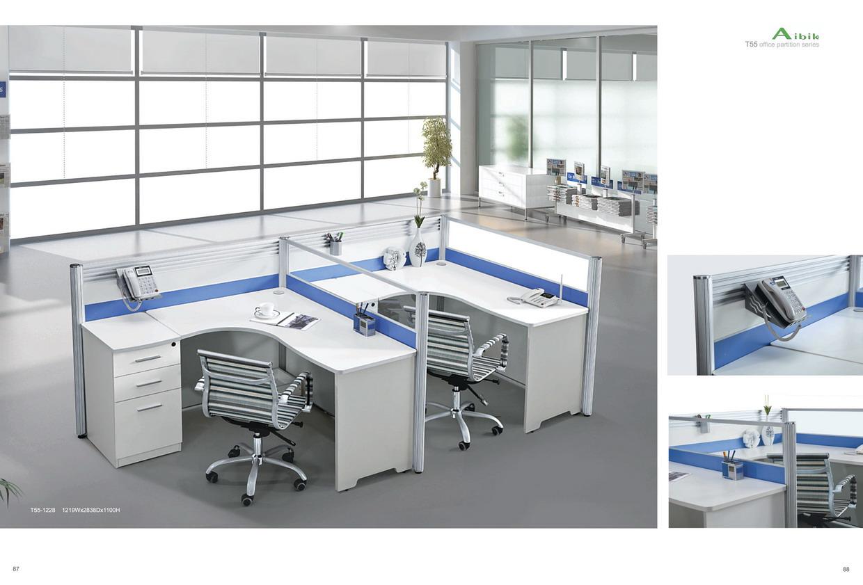 2014 mobilier de bureau en forme de u bureau autocad for Muebles de oficina 3d autocad