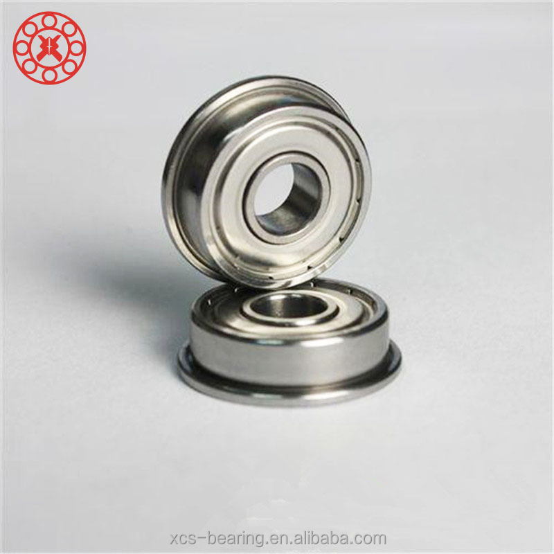 F608ZZ Ball Bearing 8x22x7mm Flange Shielded Deep Groove Ball Bearing Best Quality