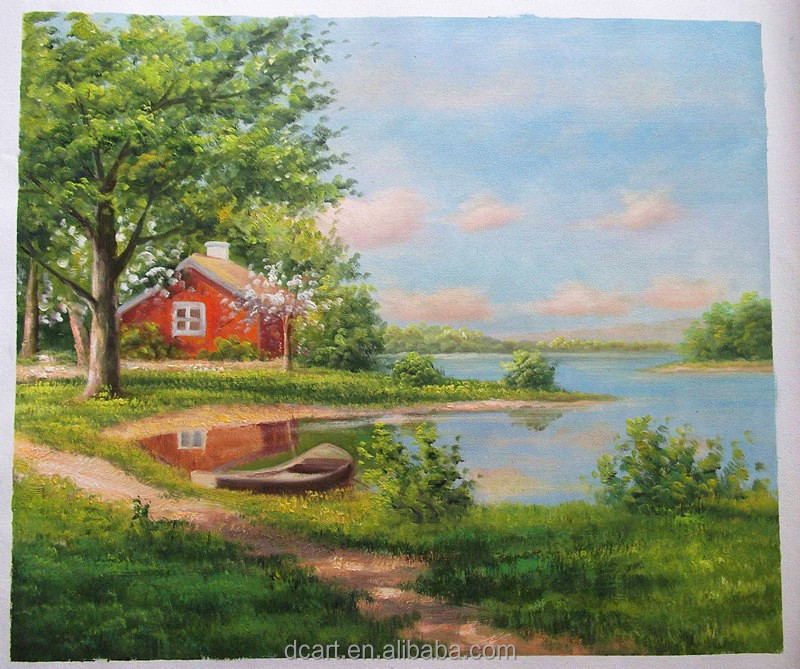 Natural Scenery Oil Painting Stock Famous Acrylic Artists