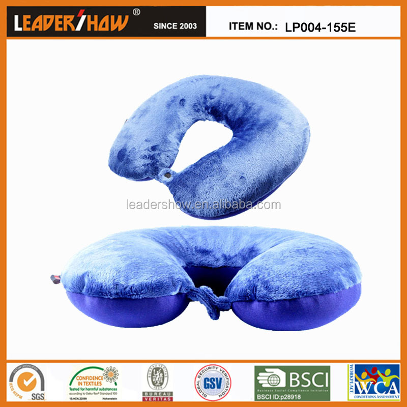 Animal shape neck cushion/car pillow for a good gift to baby