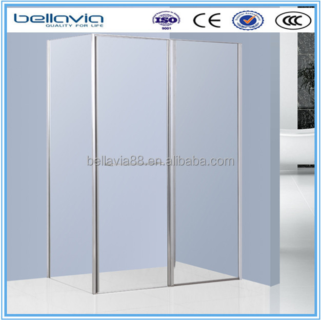 bathroom glass shower room 6mm clear /smoke/woven glass,6995square pivot doors shower enclosure,pivot shower stall,
