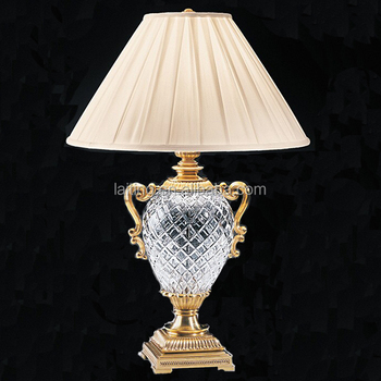Classic Style Antique Crystal Chandelier Brass Table Lamp For Hotels Decoration Buy Brass Table Lamp Antique Table Lamp Hotel Table Lamp Product On
