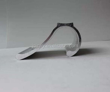 Curved Aluminum Extrusion Profile For Advertisement And Display ...