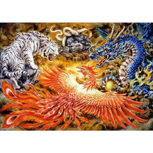 <span class=keywords><strong>Pintura</strong></span> chinesa dragão imagem wall decor art diy <span class=keywords><strong>kit</strong></span> <span class=keywords><strong>pintura</strong></span> diamante