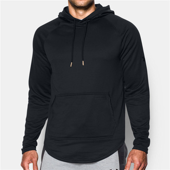 1400aae7b Custom wholesale blank black hoodies men cheap sports plain black cheap  hoodies