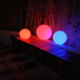 Color Changing Led Pool Lights/Led Glowing Round Plastic Solar/Led Remote Control Christmas Lights
