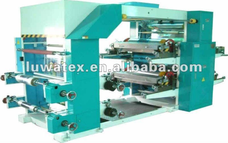 Four/Six/Eight Colors Flexographic (flexo) Printing Machine