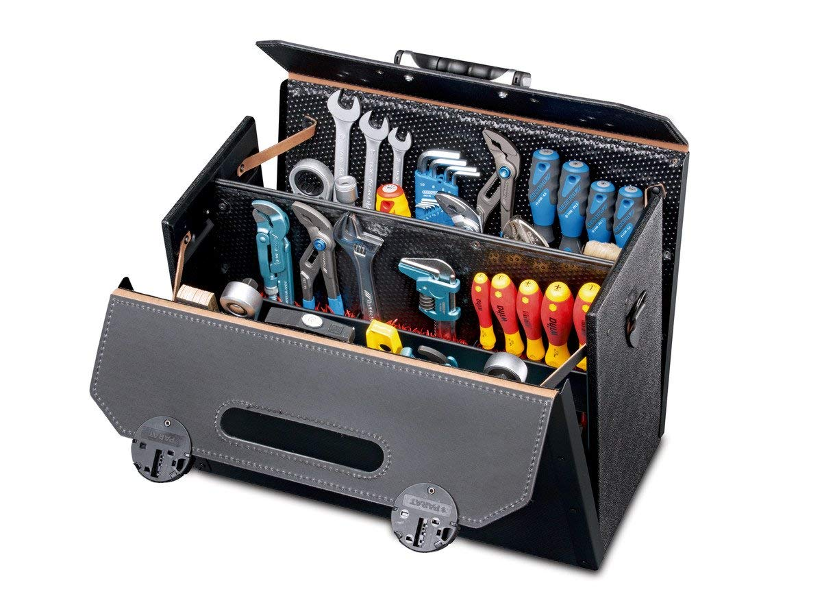 """Parat 17000581 Tool bag""""Top-Line King-size CP-7"""" 18.11x8.27x13.39"""""""